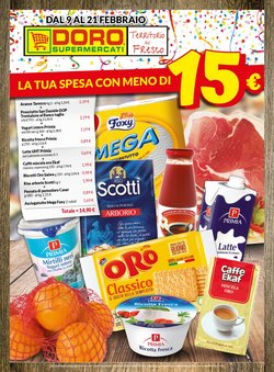 Offerte di Doro Supermercati nella volantino di Doro Supermercati ( Scaduto)