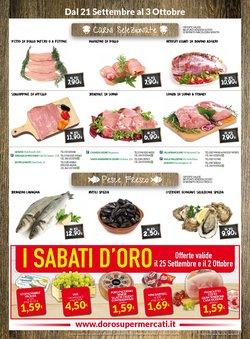 Offerte di Doro Supermercati nella volantino di Doro Supermercati ( Per altri 8 giorni)