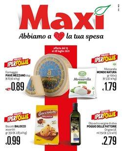 Offerte di Maxi Supermercati nella volantino di Maxi Supermercati ( Scade domani)