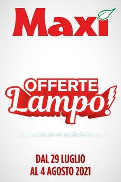 Catalogo Maxi Supermercati ( Pubblicato oggi)