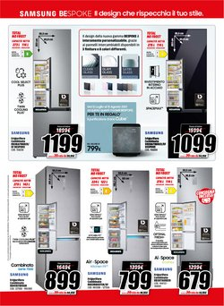 Offerte di Samsung nella volantino di MediaWorld ( Scade domani)