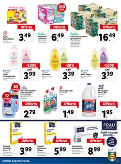 Offerte di Pampers a Lidl