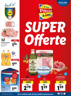Offerte Iper Supermercati nella volantino di Lidl a Santa Teresa di Riva ( Pubblicato ieri )