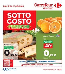 Catalogo Carrefour Market a Rieti ( Pubblicato oggi )