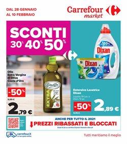 Offerte Iper Supermercati nella volantino di Carrefour Market a Tivoli ( Pubblicato oggi )