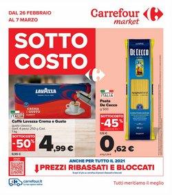 Offerte di smartphone nella volantino di Carrefour Market ( Pubblicato oggi)