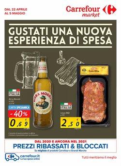 Offerte Iper Supermercati nella volantino di Carrefour Market a Milano ( Pubblicato ieri )