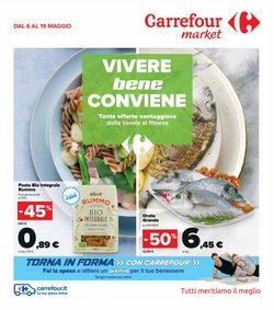 Offerte di saldi nella volantino di Carrefour Market ( Pubblicato oggi)