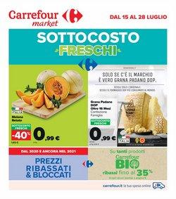 Offerte di Iper Supermercati nella volantino di Carrefour Market ( Scade oggi)