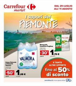 Offerte di Iper Supermercati nella volantino di Carrefour Market ( Pubblicato ieri)