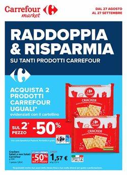 Offerte di Iper Supermercati nella volantino di Carrefour Market ( Per altri 9 giorni)