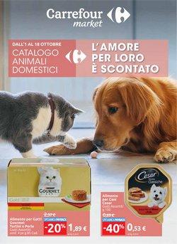 Offerte di Animali nella volantino di Carrefour Market ( Scade oggi)