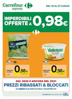 Offerte di Iper Supermercati nella volantino di Carrefour Express ( Scade domani)