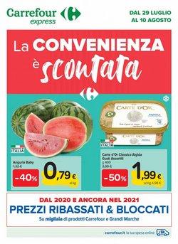 Catalogo Carrefour Express ( Pubblicato oggi)
