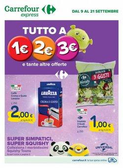 Offerte di Iper Supermercati nella volantino di Carrefour Express ( Scade oggi)