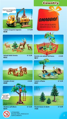 Offerte di Bosco a Playmobil