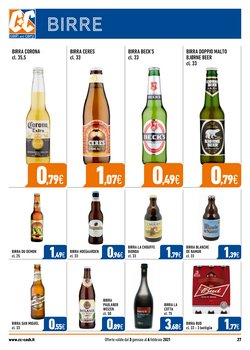 Offerte di Beck's a Cash and Carry