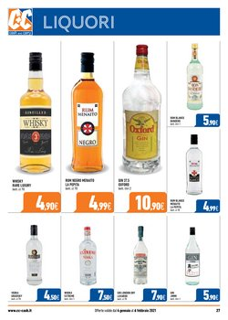 Offerte di Whisky a Cash and Carry