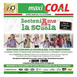 Offerte di Maxi Coal nella volantino di Maxi Coal ( Per altri 2 giorni)