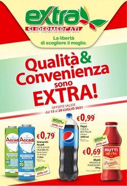 Offerte di Extra Supermercati nella volantino di Extra Supermercati ( Scaduto)