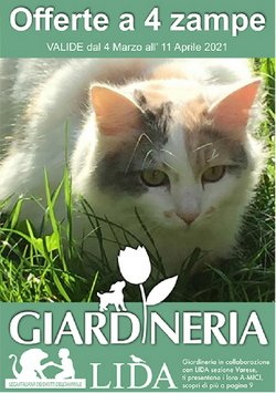 Catalogo Giardineria ( Scaduto )