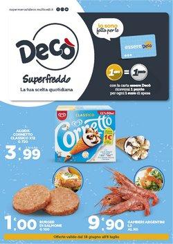 Offerte di Iper Supermercati nella volantino di Deco Superfreddo ( Pubblicato ieri)