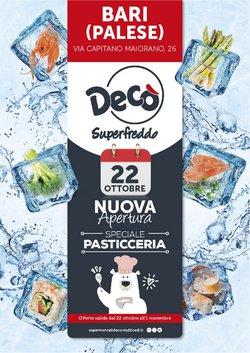 Offerte di Discount nella volantino di Deco Superfreddo ( Per altri 9 giorni)