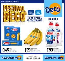 Offerte Iper Supermercati nella volantino di Deco Maxistore a Caserta ( Per altri 3 giorni )