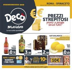 Offerte di Iper Supermercati nella volantino di Deco Maxistore ( Scade oggi)