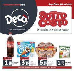 Offerte di Iper Supermercati nella volantino di Deco Maxistore ( Pubblicato oggi)