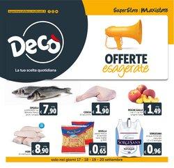 Offerte di Iper Supermercati nella volantino di Deco Maxistore ( Pubblicato ieri)