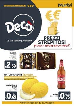 Offerte di Iper Supermercati nella volantino di Deco Market ( Scade oggi)