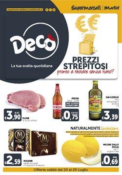 Offerte di Iper Supermercati nella volantino di Deco Market ( Per altri 3 giorni)
