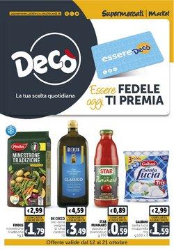 Offerte di Iper Supermercati nella volantino di Deco Market ( Scade domani)