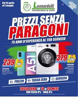 Offerte Elettronica e Informatica nella volantino di Leonardelli a Milano ( 2  gg pubblicati )