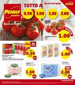 Offerte Iper Supermercati nella volantino di Penny Market a Trapani ( Pubblicato ieri )