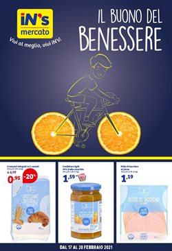 Offerte Discount nella volantino di In'S Mercato a Thiene ( Per altri 3 giorni )