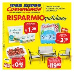 Offerte di Iper Supermercati nella volantino di Non Solo Cash ( Scade oggi)