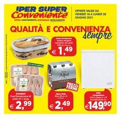 Offerte di Iper Supermercati nella volantino di Iper Super Conveniente ( Per altri 7 giorni)