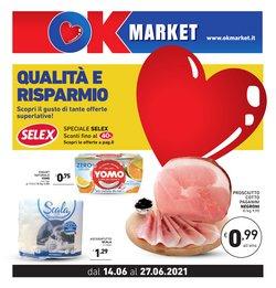 Offerte di Ok Market nella volantino di Ok Market ( Per altri 6 giorni)