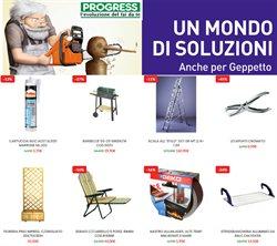 Offerte Bricolage e Giardino nella volantino di Progress a Trapani ( Pubblicato ieri )