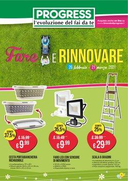 Offerte Bricolage e Giardino nella volantino di Progress a Ragusa ( Pubblicato oggi )