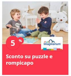 Offerte di Imaginarium nella volantino di Milano