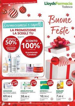 Offerte Salute e Ottica nella volantino di Lloyds Farmacia a Vicenza ( 3  gg pubblicati )