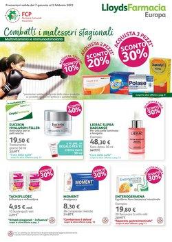 Offerte Salute e Ottica nella volantino di Lloyds Farmacia a Piacenza ( Per altri 10 giorni )