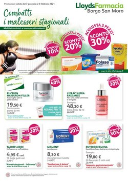 Offerte Salute e Ottica nella volantino di Lloyds Farmacia a Albenga ( Per altri 18 giorni )