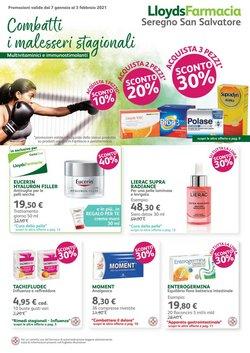 Offerte Salute e Ottica nella volantino di Lloyds Farmacia a Monza ( Per altri 7 giorni )