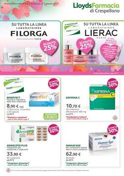 Offerte Salute e Ottica nella volantino di Lloyds Farmacia a Bologna ( Scade domani )