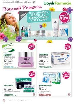 Offerte Salute e Ottica nella volantino di Lloyds Farmacia a Parma ( Per altri 15 giorni )