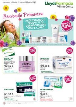 Offerte Salute e Ottica nella volantino di Lloyds Farmacia a Legnago ( Per altri 15 giorni )